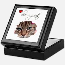 LOVE MY CATS Keepsake Box