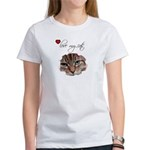 LOVE MY CATS Women's T-Shirt