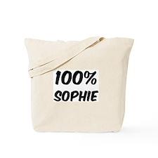 100 Percent Sophie Tote Bag