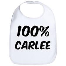100 Percent Carlee Bib