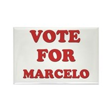 Vote for MARCELO Rectangle Magnet