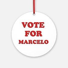 Vote for MARCELO Ornament (Round)