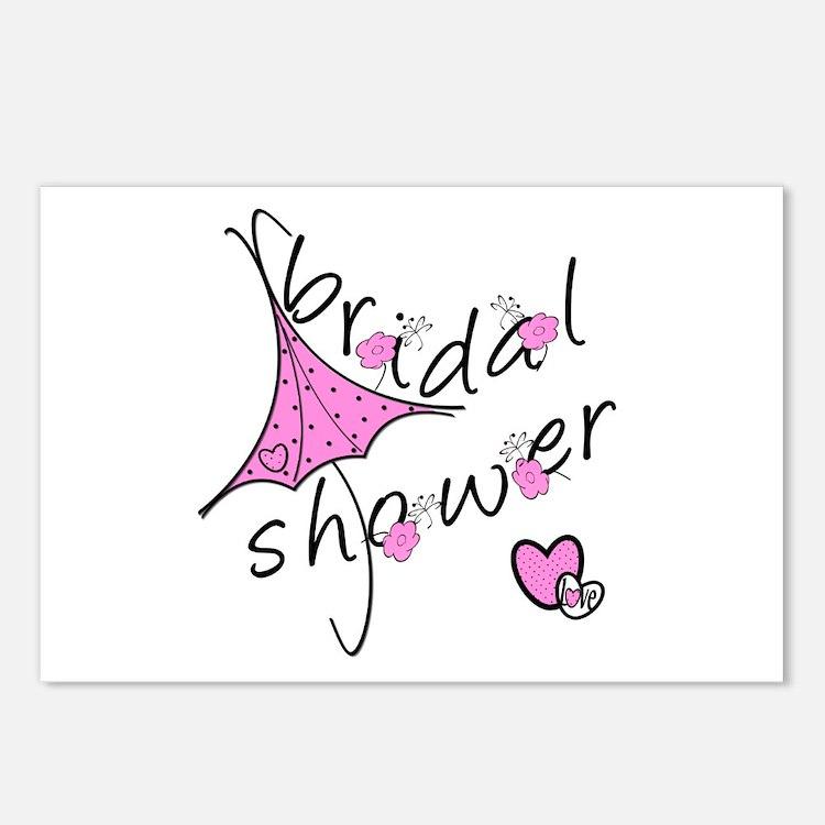 Bridal Shower Postcards (Package of 8)