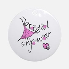 Bridal Shower Ornament (Round)