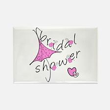 Bridal Shower Rectangle Magnet