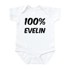 100 Percent Evelin Infant Bodysuit