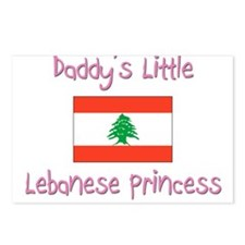 Daddy's little Lebanese Princess Postcards (Packag