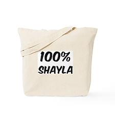 100 Percent Shayla Tote Bag