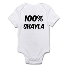 100 Percent Shayla Infant Bodysuit