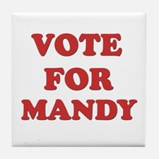 Vote for MANDY Tile Coaster