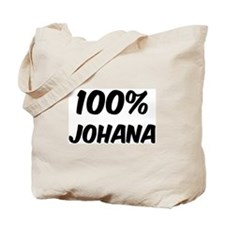 100 Percent Johana Tote Bag