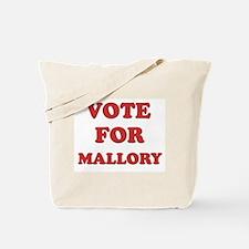 Vote for MALLORY Tote Bag
