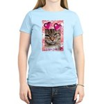PUTTYTAT Women's Pink T-Shirt
