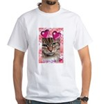 PUTTYTAT White T-Shirt