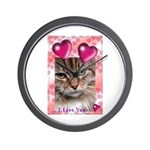 PUTTYTAT  Wall Clock