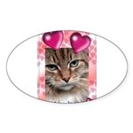 PUTTYTAT Oval Sticker