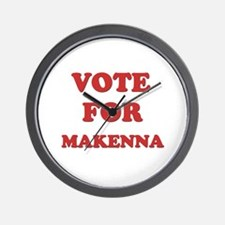 Vote for MAKENNA Wall Clock