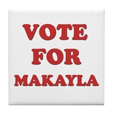 Vote for MAKAYLA Tile Coaster