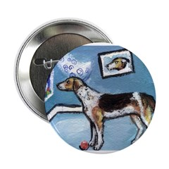 HARRIER whimsical Designs Button