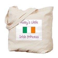 Daddy's little Irish Princess Tote Bag