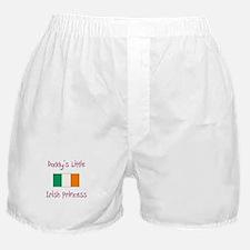 Daddy's little Irish Princess Boxer Shorts