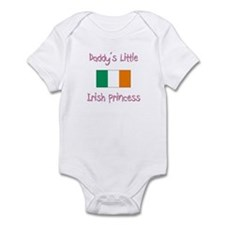 Daddy's little Irish Princess Infant Bodysuit