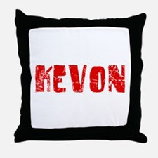 Kevon Faded (Red) Throw Pillow