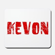 Kevon Faded (Red) Mousepad
