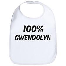 100 Percent Gwendolyn Bib