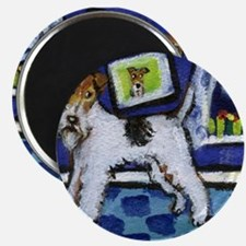 WIRE HAIRED FOX TERRIER art Magnet