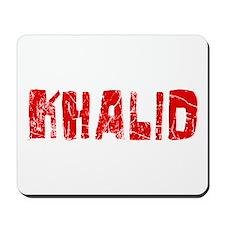 Khalid Faded (Red) Mousepad