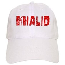 Khalid Faded (Red) Baseball Cap