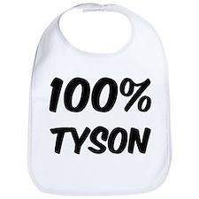 100 Percent Tyson Bib