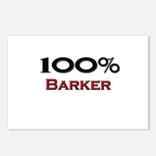 100 Percent Barker Postcards (Package of 8)