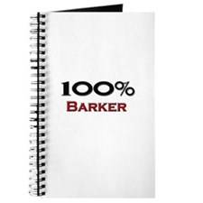 100 Percent Barker Journal