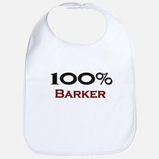 100 Percent Barker Bib