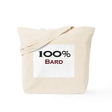 100 Percent Bard Tote Bag