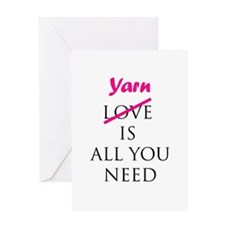 Yarn is All You Need - Knit - Greeting Card