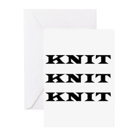 Knit Knit Knit Greeting Cards (Pk of 10)