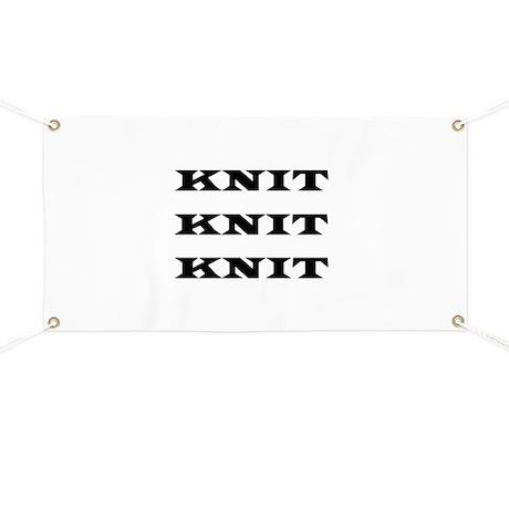Knit Knit Knit Banner