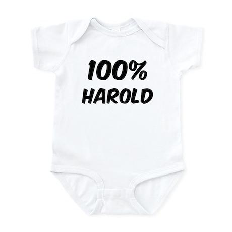 100 Percent Harold Infant Bodysuit