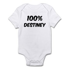 100 Percent Destiney Infant Bodysuit