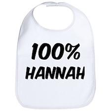100 Percent Hannah Bib