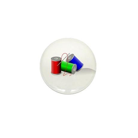Colorful Thread Spools - Sewi Mini Button (100 pac