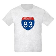 Interstate 83, USA T-Shirt