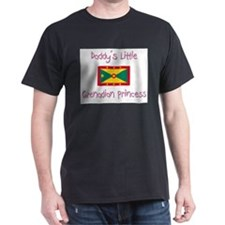 Daddy's little Grenadian Princess T-Shirt