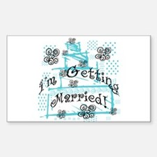 I'm Getting Married Rectangle Decal