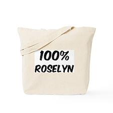 100 Percent Roselyn Tote Bag