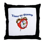Time to Stamp Throw Pillow