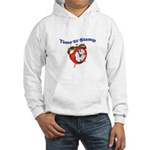 Time to Stamp Hooded Sweatshirt